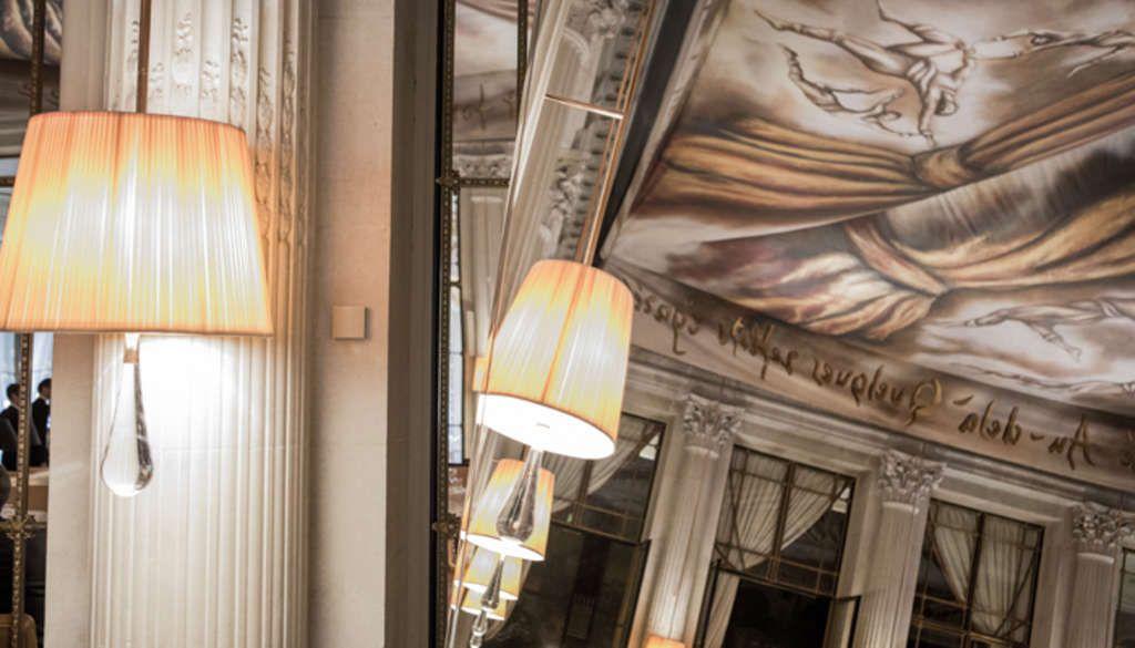 The Dali restaurant at Le Meurice, Paris.