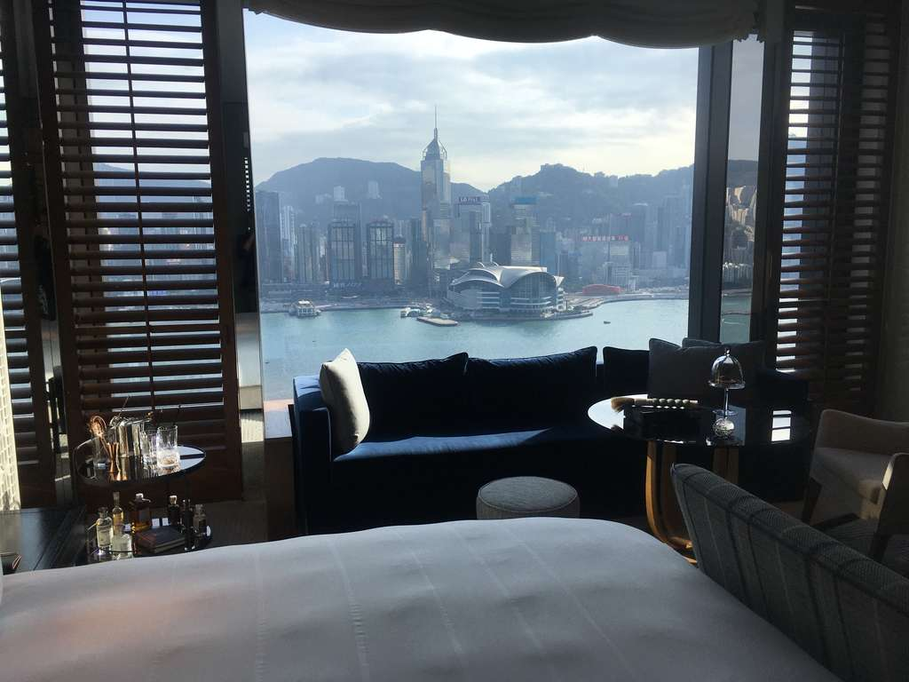 Rosewood Hong Kong: Room with a view of Hong Kong Island