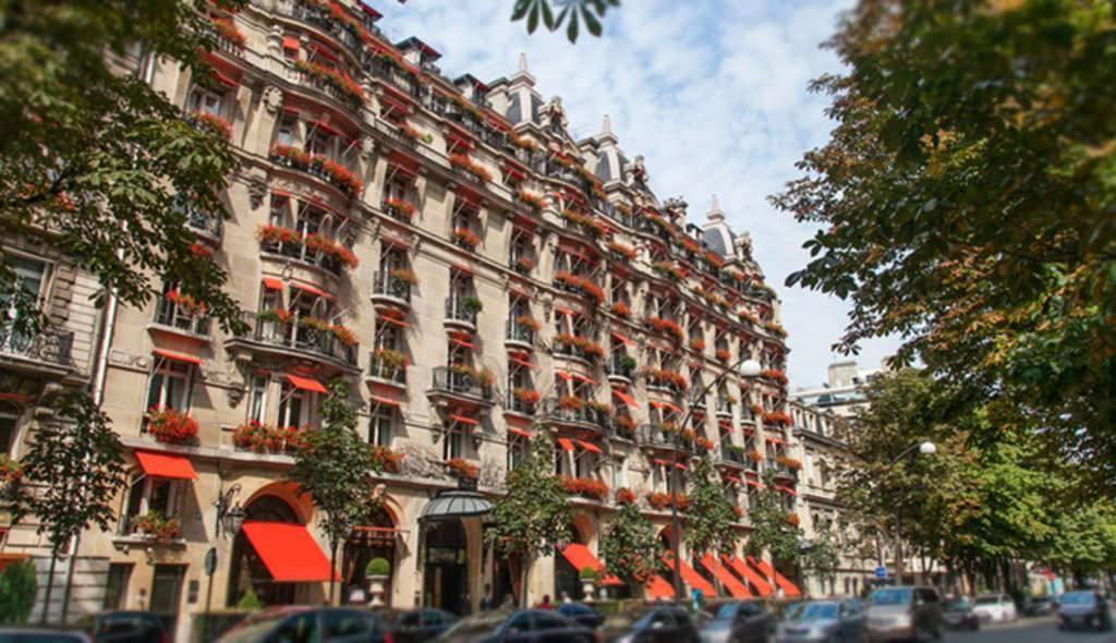The Hotel Plaza Athénée Paris - street view