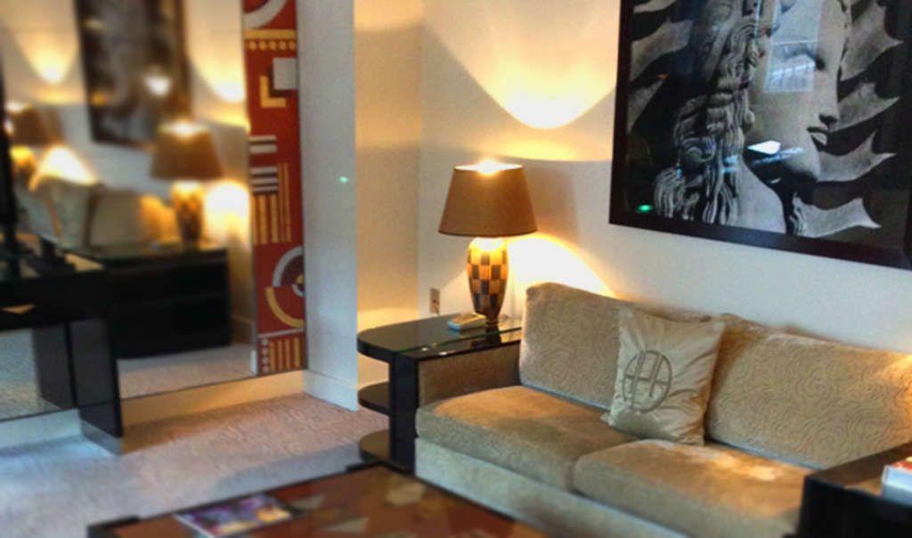 Art Deco suite at Plaza Athénée in Paris
