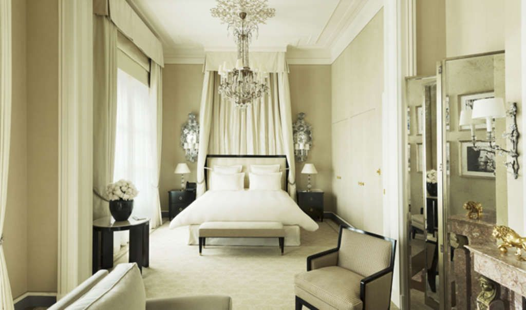 The Coco Chanel suite at The Ritz, Paris.