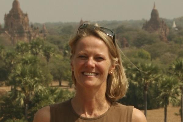 Suzanne Godfrey in Myanmar